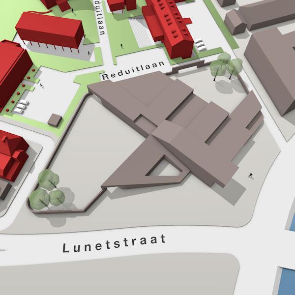 Infographi van de Triple O Campus in Breda