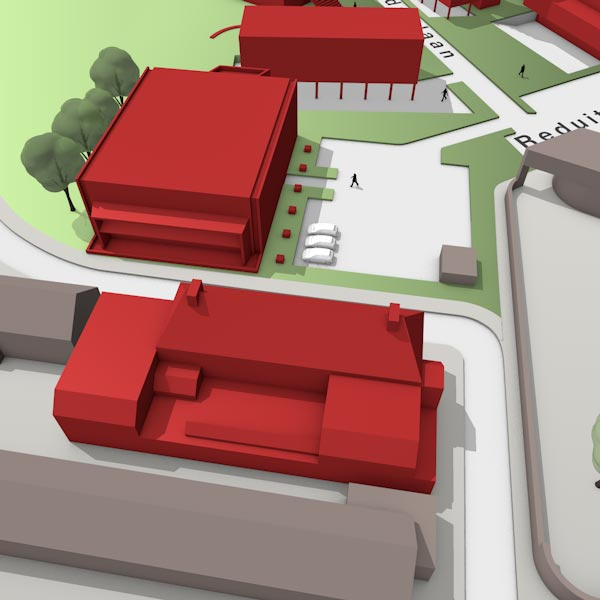 3D map Triple O Campus in Breda