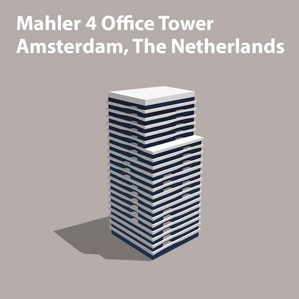 Mahler4 Amsterdamse Zuidas wayfinding project